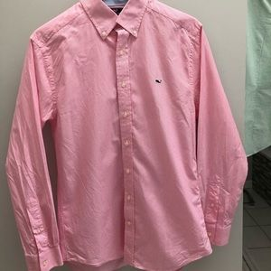 Vineyard Vines Mens Slim Fit Whale Shirt - Medium